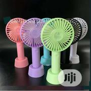 Mini Handheld Portable USB Rechargeable Fan - Lasts Up to 8 Hours | Home Appliances for sale in Lagos State, Alimosho