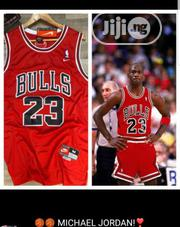 Bulls Unisex Red Basketball Jersey | Clothing for sale in Lagos State, Surulere
