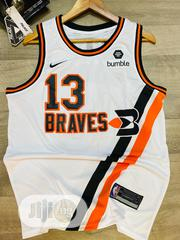 13 Braves Unise White Basketball Jersey   Clothing for sale in Lagos State, Surulere