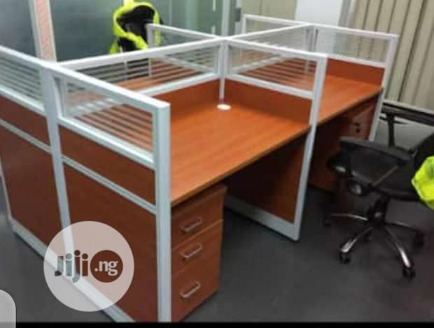 Brand New Quality Four Seaters Workstation