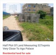 Half Plot of Land Measuring 327sqmts Very Close to Ago Palace Way.   Land & Plots For Sale for sale in Lagos State, Isolo