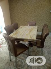 Unique 6 Seaters Marble Dining Table | Furniture for sale in Lagos State, Ojo