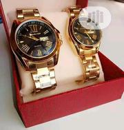 Luxury Lovers Couple Gold Watches   Watches for sale in Lagos State, Orile