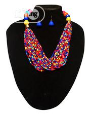 Mono Strand Necklace With Earring Set - Multi | Jewelry for sale in Lagos State, Amuwo-Odofin