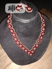 Beaded Necklace and Earrings. | Jewelry for sale in Osun State, Osogbo