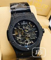 Hublot Men'S Wrist Watch Black | Watches for sale in Lagos State, Ikeja