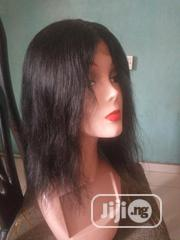 Brazilian Human Hair Wig(12inches)   Hair Beauty for sale in Lagos State, Amuwo-Odofin