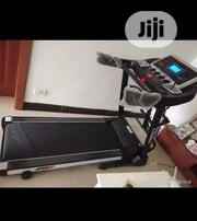 German 3HP Treadmill Machine With Incline, Dumbbells Mp3 Massager | Sports Equipment for sale in Imo State, Okigwe