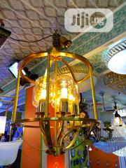 Wrought Iron Golden Chandelier | Home Accessories for sale in Lagos State, Ikeja