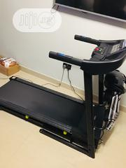 2.5hp Treadmill With Massager and Dumbbells | Sports Equipment for sale in Lagos State, Ojodu