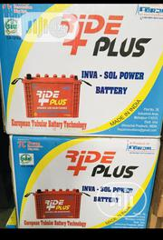 220ah 12volt Ride Plus Tubular Battery | Electrical Equipment for sale in Lagos State, Ojo