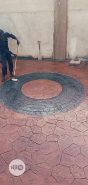 Stamped Concrete/ Increte Floor | Building & Trades Services for sale in Anambra State, Nnewi