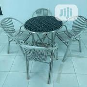 Aluminium Table With 4 Chairs | Furniture for sale in Lagos State, Ojo