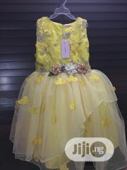 Yellow Tulle Ball Gown | Children's Clothing for sale in Lagos State, Ikeja