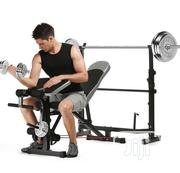Weight Bench With 50kg Plate | Sports Equipment for sale in Lagos State, Ajah