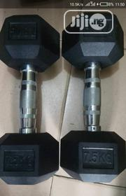 Hexa Dumbell 1500 Per Kg | Sports Equipment for sale in Abuja (FCT) State, Asokoro