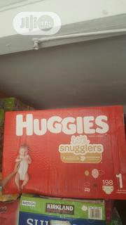 Huggies Little Snugglers Size 1 | Baby & Child Care for sale in Lagos State, Ifako-Ijaiye
