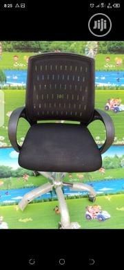 Mesh and Leather Swivel Office Chair | Furniture for sale in Lagos State, Magodo