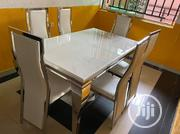 Imported Six Seater Marble Dining Table | Furniture for sale in Lagos State, Ikorodu