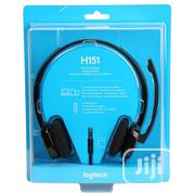 Logitech H151 Headphone Wired | Headphones for sale in Lagos State, Ikeja