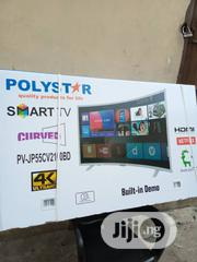 Polystar 55 Inches Smart CURVED LED TV | TV & DVD Equipment for sale in Lagos State, Ojo