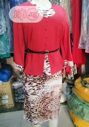 Beautiful Peplon Skirt And Blouse | Clothing for sale in Lagos State, Amuwo-Odofin
