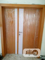Pure (Double Door) Hdf With Chrome N Frame | Doors for sale in Lagos State, Mushin