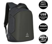 Big Anti-Theft Backpack Bag for School Business Laptop + USB   Computer Accessories  for sale in Lagos State, Ikeja