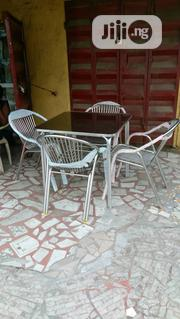 Good Quality Aluminum Table With Chair | Furniture for sale in Lagos State, Ojo