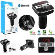 Bluetooth Car Kit FM Transmitter Radio Adapter USB Charger MP3 Player | Vehicle Parts & Accessories for sale in Lagos State, Ojo