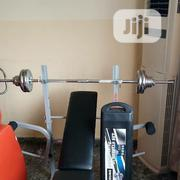 Multi Purpose Weight Lifting Bench Or Bench Press. With 50k Dumbbells | Sports Equipment for sale in Bayelsa State, Yenagoa