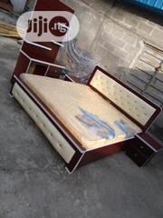 (6×6) High Quality Bedframe With Mouka Super Mattress | Furniture for sale in Lagos State, Ojo