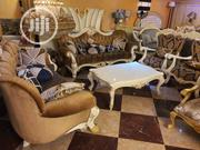 8 Seater Foreign Imported Turkey Chairs With Center Table   Furniture for sale in Lagos State, Surulere