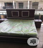 Complete Set of Bed With Mattress and Frame | Furniture for sale in Lagos State, Ojo