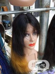Ombre Colour Human Hair Wig 16 Inches | Hair Beauty for sale in Rivers State, Port-Harcourt