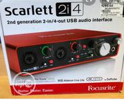 New Generation Focusrite Scarlett 2i4 Audio Interface | Audio & Music Equipment for sale in Lagos State, Amuwo-Odofin