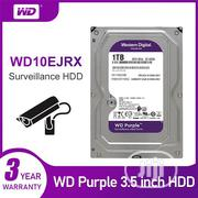 WD Purple Surveillance Hard Drive 1TB | Computer Hardware for sale in Lagos State, Ikeja
