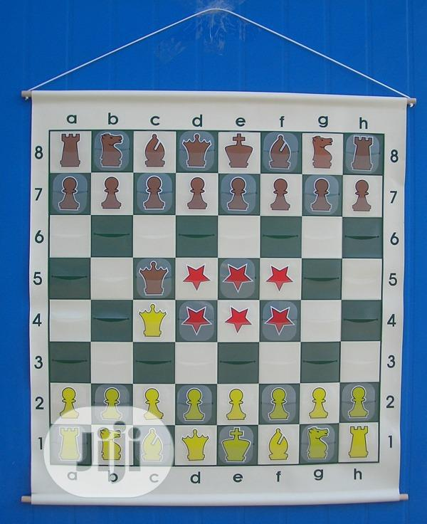 Pocket Demonstration Chess Board | Books & Games for sale in Ikeja, Lagos State, Nigeria