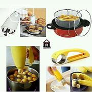 Doughnut Maker, Puff-puff Maker, Plantain Cutter And Deep Fryer   Kitchen Appliances for sale in Lagos State, Lagos Island
