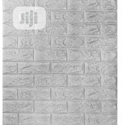 6pcs/Set 3D Brick Classy Wall Stickers   Home Accessories for sale in Lagos State, Victoria Island