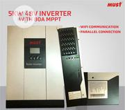 MUST 5000w 48v Hybrid Inverter Inbuilt 80A Mppt Charge Controller | Solar Energy for sale in Lagos State, Amuwo-Odofin