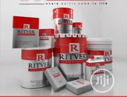 20, 10 And 4 Ltrs Of Ritver Red Emulsion Paint | Building Materials for sale in Rivers State, Port-Harcourt