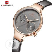 Naviforce High Quality Women Watches Quartz Ladies Leather Watch | Watches for sale in Lagos State, Lagos Island