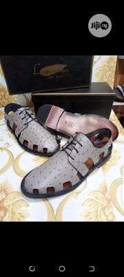 Original Lishushan Leathet Sandals for Men Available.   Shoes for sale in Lagos State, Lagos Island