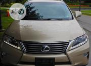 Lexus RX 2013 350 F SPORT AWD Gold | Cars for sale in Lagos State, Ikeja