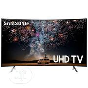 Samsung 65''CURVED UHD 4K Smart TV 65NU7300 +1 Year Warranty | TV & DVD Equipment for sale in Abuja (FCT) State, Wuse