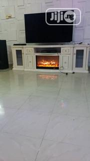 Unique Standard Fireplace Plasma Television Stand | Furniture for sale in Lagos State, Ojo