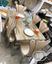 High Quality Classic Marble Dining Table Set | Furniture for sale in Lagos State, Ojo
