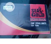 Good And Authenti Sea Gold 75ah Battery For Quick Sale | Vehicle Parts & Accessories for sale in Lagos State, Ajah