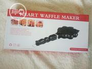 Waffle Maker Heart Shaped | Kitchen Appliances for sale in Lagos State, Ikeja